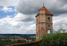 Castle of Landshut Royalty Free Stock Image