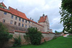 Castle of Landshut Stock Images