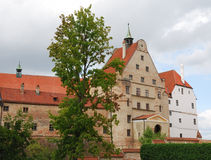 Castle of Landshut Stock Photo