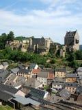 Luxembourg - ruins of medieval Castle Larochette - Larochette Stock Images