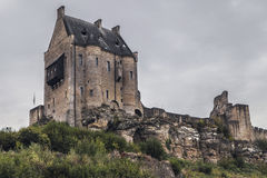 Castle of Larochette Stock Images
