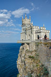 Castle Lastochkino Gnezdo Royalty Free Stock Image