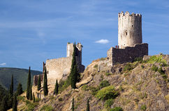 Castle of Lastours 6 Royalty Free Stock Images