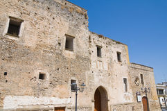 Castle of Laterza. Puglia. Italy. Stock Photography