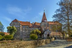 Castle in Lauf an der Pegnitz, Germany Stock Photography