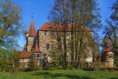 Castle in Lauf an der Pegnitz, Germany Royalty Free Stock Photography