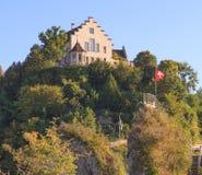 Castle Laufen. Rhine Falls, Switzerland Stock Photography