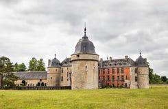 Castle Lavaux-Sainte-Anne Stock Photo