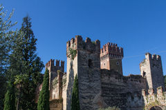 Castle in Lazise Stock Image