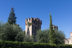 Castle in Lazise Royalty Free Stock Photos