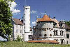 Castle Lchtenstein Royalty Free Stock Photo