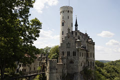 Castle Lchtenstein Stock Photography
