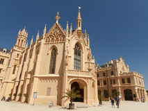 Castle in Lednice Royalty Free Stock Photography