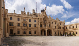 Castle Lednice Royalty Free Stock Photo