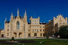 Castle in Lednice Royalty Free Stock Images