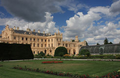 Castle Lednice with gardens  in Czech Republic in Europe, Unesco Stock Photography