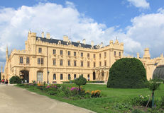 Castle Lednice stock image
