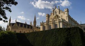 Castle Lednice in Moravia Stock Images