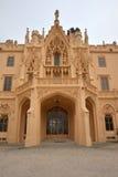 Castle Lednice Stock Photo