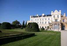The castle Lednice - South of Moravia - Czech Repu Royalty Free Stock Photography