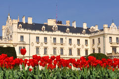 Castle Lednice,UNESCO heritage site Stock Photos