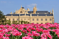 Castle Lednice,UNESCO heritage site Stock Photo