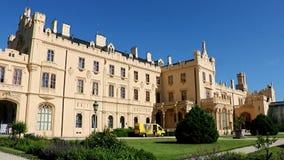 Castle Lednice stock footage
