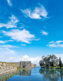 The castle of Lefkada Royalty Free Stock Images