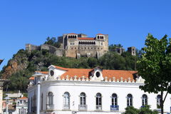 Castle of Leiria Royalty Free Stock Image