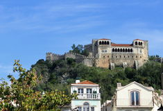 Castle of Leiria Stock Photography