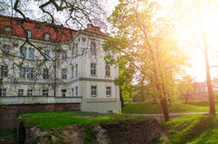 Castle Leśnica  Royalty Free Stock Photography