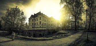 Castle Lesnica Stock Photos
