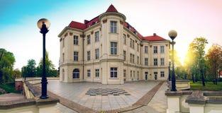 Castle in Leśnica, wroclaw poland Stock Image