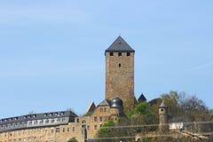 Castle Lichtenberg. View of the castle Lichtenberg near, Thallichtenberg, Germany stock photography