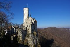 Castle Lichtenstein #2 Stock Photography