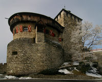 Castle Lichtenstein 2. Part of the castle of lichtenstein, europe Stock Photography