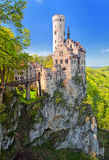 Castle Lichtenstein, Germany Royalty Free Stock Photography