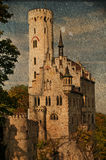 Castle Lichtenstein in Germany Stock Photos