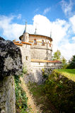 Castle Liechtenstein Stock Photo