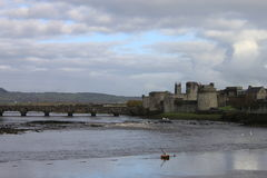 Castle Limerick city Royalty Free Stock Photography