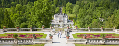 Linderhof Palace. An image of the beautiful Palace Linderhof Royalty Free Stock Images