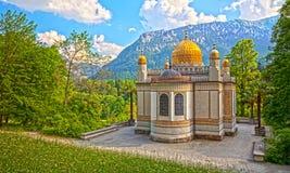 Castle linderhof. An image of the beautiful moorish pavilion at Castle Linderhof Stock Images