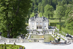 Castle linderhof Stock Photo
