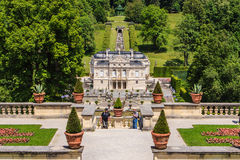 Castle Linderhof Royalty Free Stock Photos