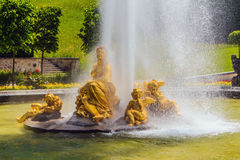 Castle Linderhof Royalty Free Stock Photography