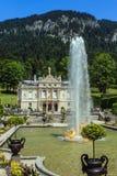 Castle Linderhof Stock Image