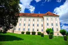 Castle in Lipizzan stable Stock Photography