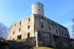 Castle Lipowiec, Poland Stock Photography