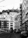 Castle in Lisboa Royalty Free Stock Photo