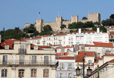 Castle in Lisbon, Portugal Royalty Free Stock Photo